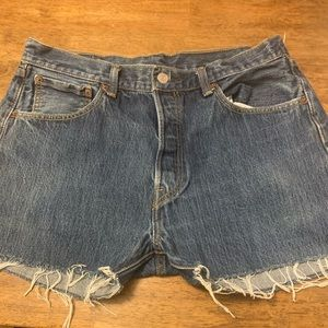 Levi's 501  shorts !